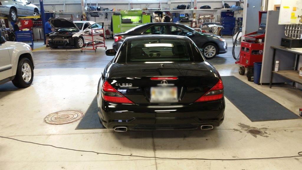 Mercedes Car Repair 3